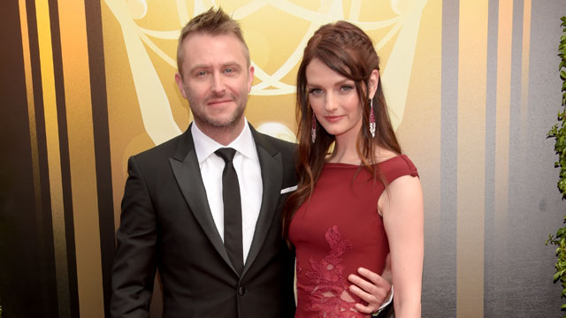 Chris Hardwick & Lydia Hearst