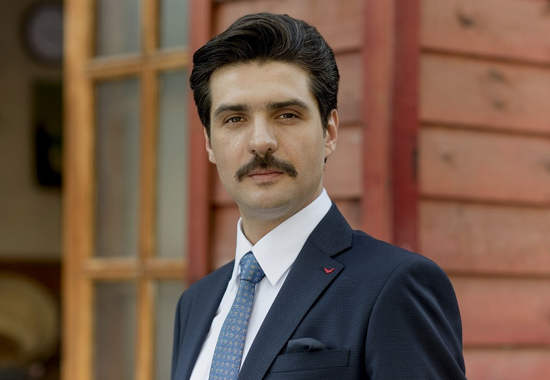 Image result for جمال توکتاش (Cemal Toktas) در نقش اوکتای