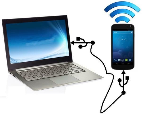 چگونه اینترنت گوشی را به کامپیوتر وصل کنیم
