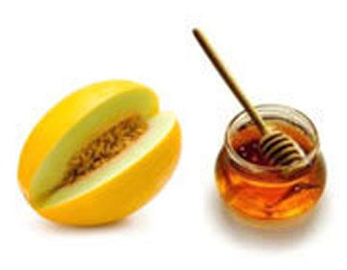 خربزه و عسل,خربزه,عسل,خوردن خربزه و عسل